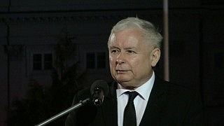 Jarosław Kaczyński na Apelu Pamięci, 10 kwietnia 2018 r.