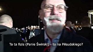 Maciej Świrski o swoich wąsach. Króciutko