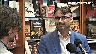 Zapowiedź rozmowy Juliusza Wnorowskiego (Kamiuszka) z Piotrem Jamskim o książce Ratownictwo Dzwonów 1915-1921