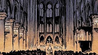 Noc św. Bartłomieja trailer komiksu