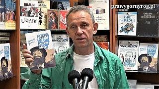 Gabriel Maciejewski czyta fragment książki Klemensa Junoszy – Czarnebłoto (Pająki wiejskie)