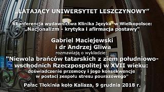 Gabriel Maciejewski i dr Andrzej Gliwa – Stres ofiar tatarskich najazdów