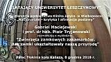 Gabriel Maciejewski i prof. dr hab. Piotr Tryjanowski – Przyroda i zamki, wino i ptaki