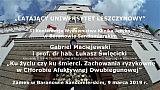 Gabriel Maciejewski i prof Łukasz Święcicki – Ku życiu czy ku śmierci. Zachowania ryzykowne w CHAD