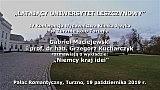 Gabriel Maciejewski i prof. Grzegorz Kucharczyk: Niemcy – kraj idei