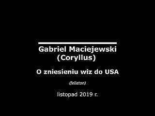 Pogadanka o zniesieniu wiz do USA