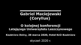 Gabriel Maciejewski – Miasto na skrzyżowaniu mórz i kontynentów
